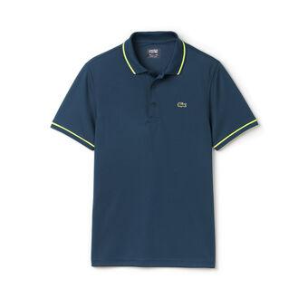 Men's SPORT Ultra-Dry Piping Tennis Polo Shirt