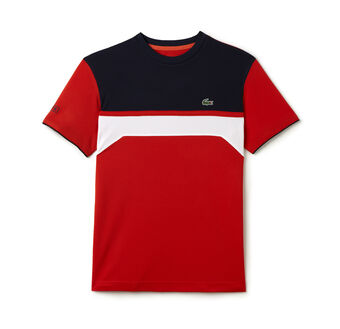 Men's SPORT Ultra Dry Chest Stripe Tennis T-Shirt