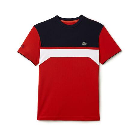 Men's SPORT Ultra Dry Chest Stripe Tennis T-Shirt