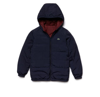 Kids' Reversible Flecked Quilted Jacket