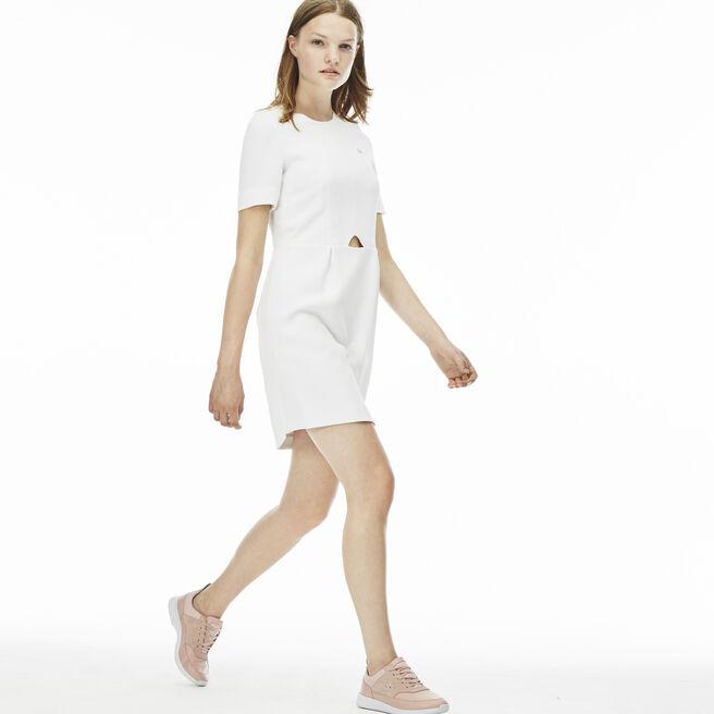 Women's L!VE Cutout Cotton Crepe Dress