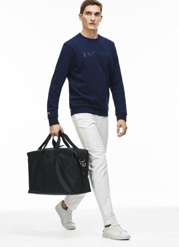 Men's Chantaco Monochrome Coated Leather Weekend Bag