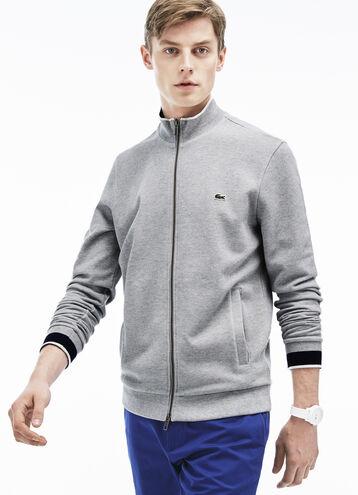 Men's Full Zip Cotton Sweater