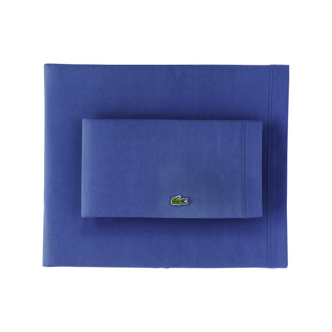 King Solid Percale Sheet Set