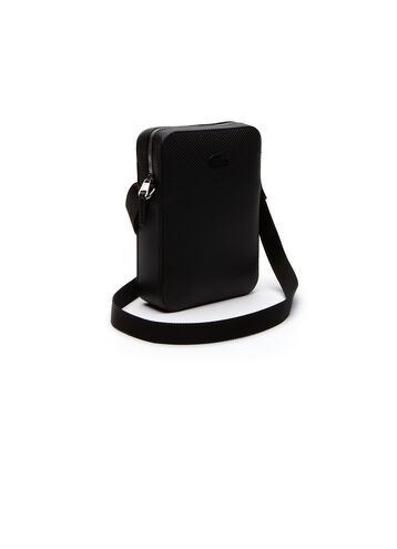Men's Chantaco Monochrome Coated Leather All-Purpose Bag