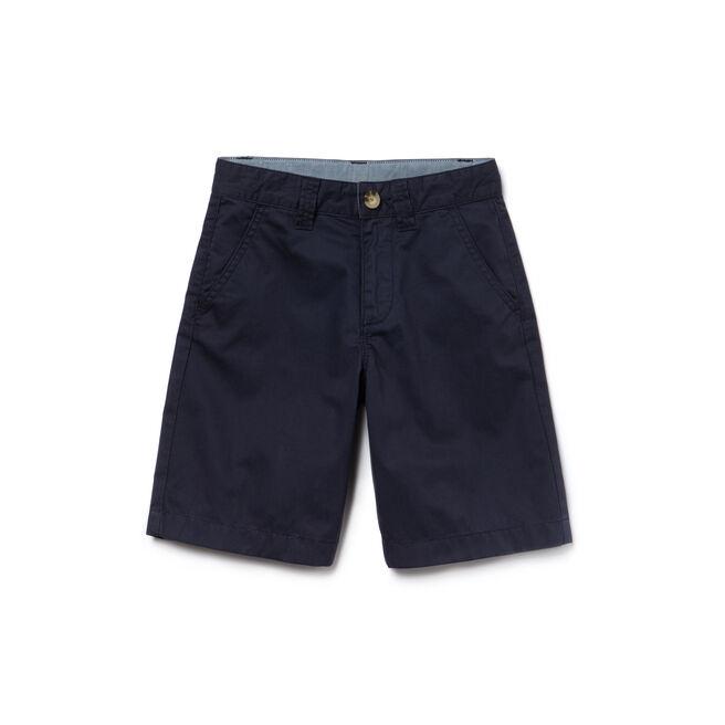 Boy's Classic Gabardine Bermuda Shorts