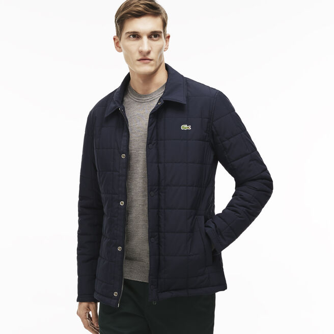 Men's Quilted Car Coat