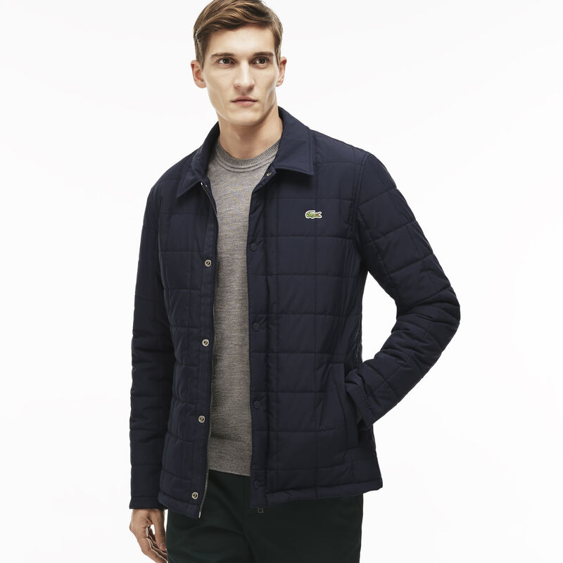 Men's Quilted Car Coat | LACOSTE