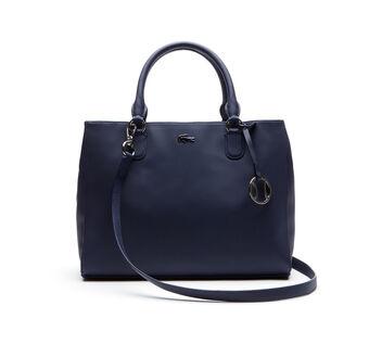 Women's Daily Classic Fine Piqué Grains Dual Carry Crossover Bag