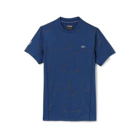 Men's Lacoste SPORT Tennis Print Stretch Jersey T-shirt