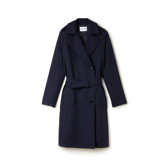 Women's Cotton Gabardine Trench Coat
