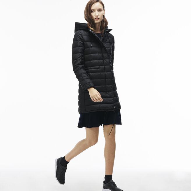 Women's Cinch Waist Padded Coat