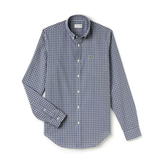 Men's Stretch Poplin Woven Shirt