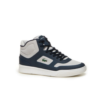 Men's SPORT Explorateur High-Top Technical Canvas Sneakers