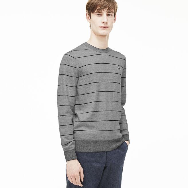 Men's L!VE Micro Stripe Cotton Sweater