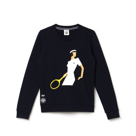 Women's SPORT French Open Print Sweatshirt