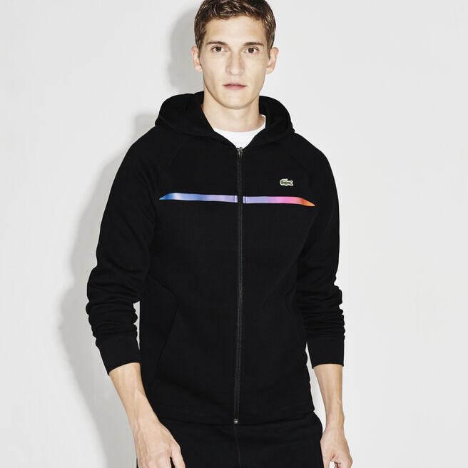 Men's SPORT Hooded Zippered Tennis Sweatshirt
