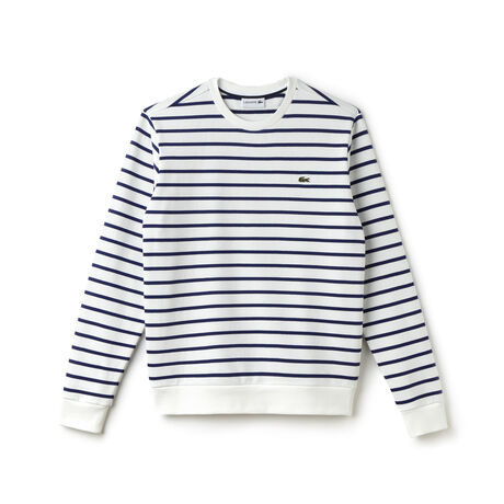 Men's Fleece Nautical Crew Neck Sweatshirt