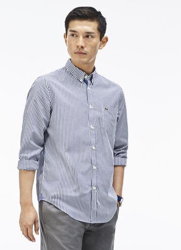 Men's Bengal Stripe Poplin Shirt