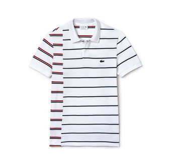 Men's Made in France Regular Fit Cotton Piqué Polo Shirt