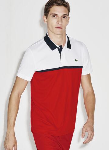Men's SPORT Ultra Dry Resistant Piqué Tennis Polo Shirt