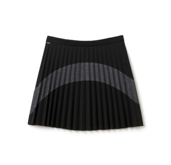 Women's Color Block Pleated Skirt