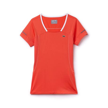 Women's SPORT Mesh Panel Technical T-Shirt