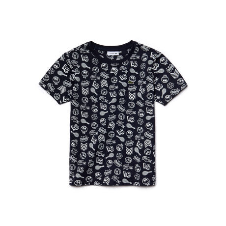 Kids' Cotton Jersey Print T-shirt