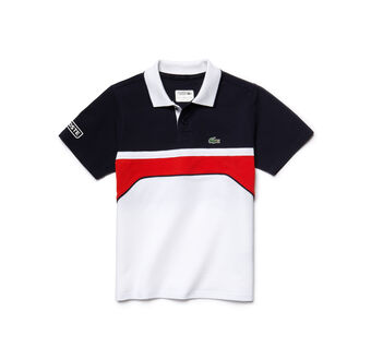 Kids' SPORT Color Block Jersey Polo Shirt