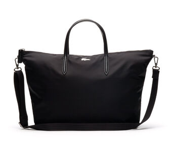 Women's L.12.12 Concept Nylon Zippered Tote Bag