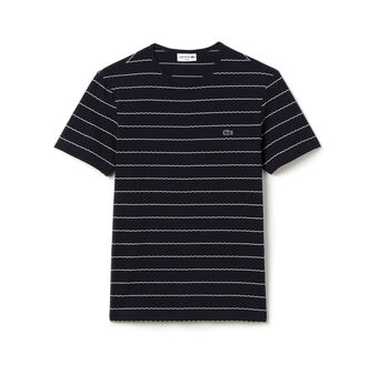 Men's Jacquard Stripe T-Shirt