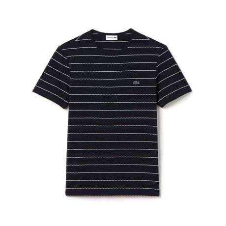 Men's Jacquard Stripe T-Shirt