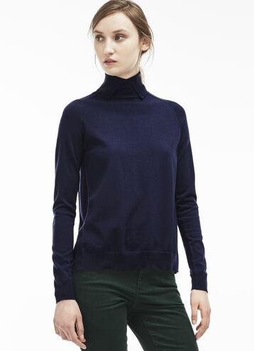 Women's Pleated Back Sweater