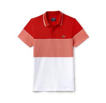 Men's SPORT Colorblock Technical Piqué Golf Polo