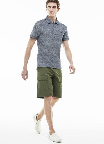 Men's Twill Bermuda Cargo Shorts