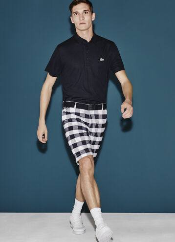 Men's SPORT Gingham Plaid Golf Shorts