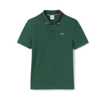 Men's L!VE Slim Fit Piping Piqué Polo