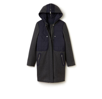 Women's Wool Mix Padded Coat