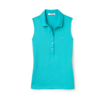 Women's Stretch Petit Piqué Polo Shirt
