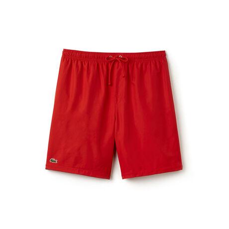 Men's Sport Taffeta Drawstring Tennis Shorts