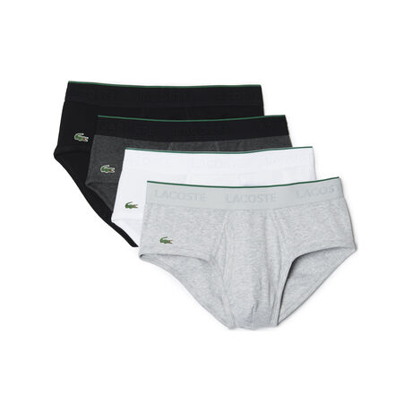 Men's Essentials Collection 4-Pack Cotton Briefs
