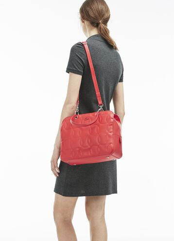Women's Off The Court Unicolor Zip Boston Bag