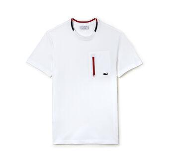 Men's Made in France Zip Pocket Piqué T-Shirt