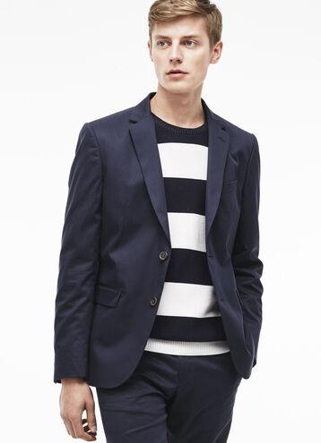 Suit jacket in gabardine