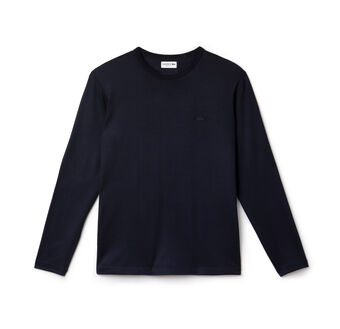 Men's Wool Jersey Crewneck T-Shirt