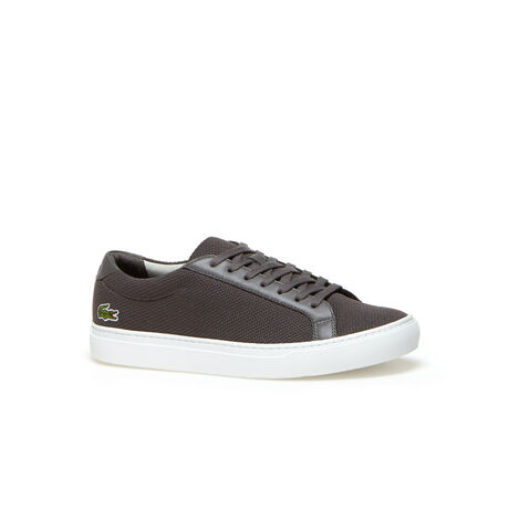 Men's L.12.12 Piqué Canvas Low-Rise Sneakers