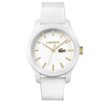 Unisex Lacoste.12.12 White Watch