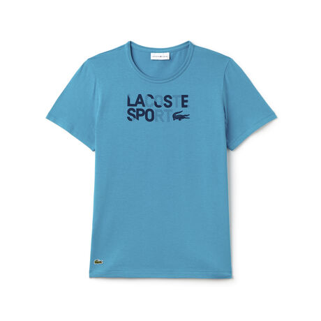 Women's SPORT Crew Neck Jersey Lettering Tennis T-shirt