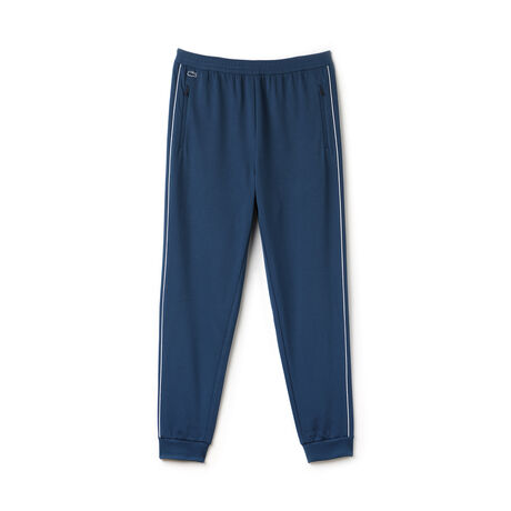 Men's Square Knit Side Piping Track Pants