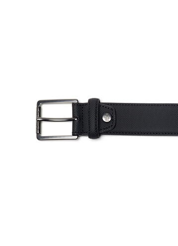 Men's Petit Piqué Printed Belt